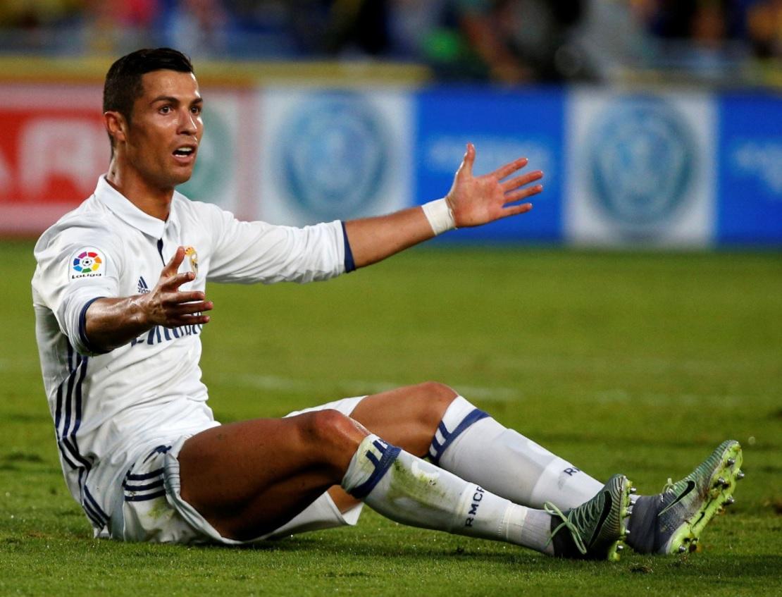 Speltips C. Ronaldo är hal!
